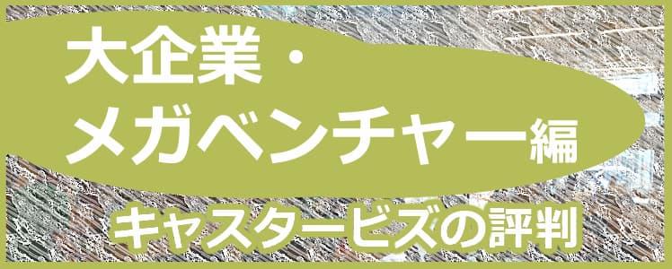 キャスタービズの評判大企業メガベンチャー編